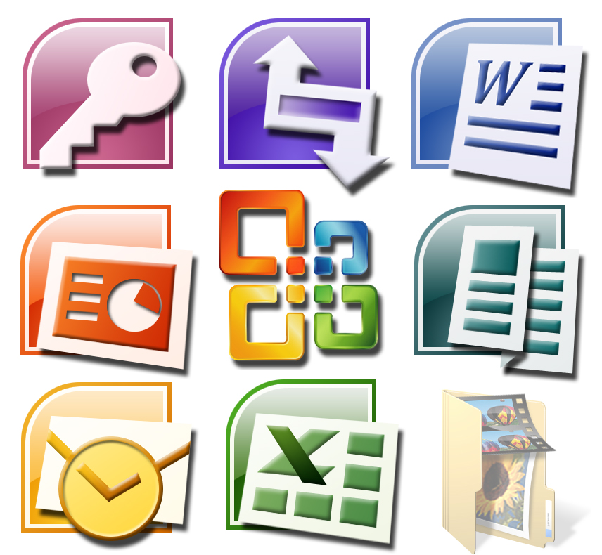 Microsoft Office 2007 Icons